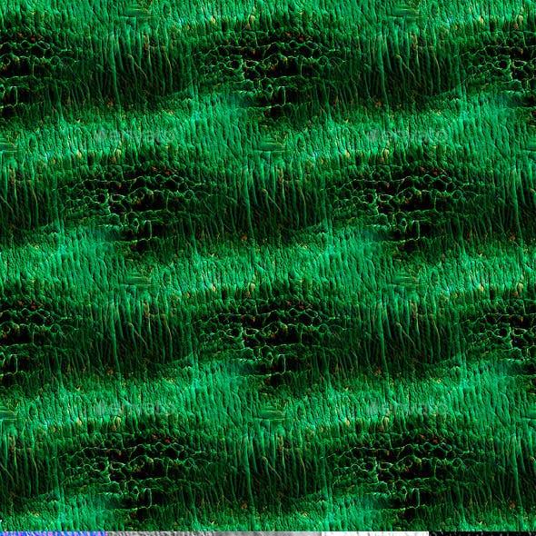 Green Lizard Skin Texture