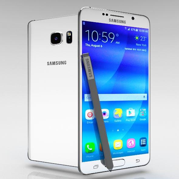 Samsung Galaxy Note 5 White Pearl