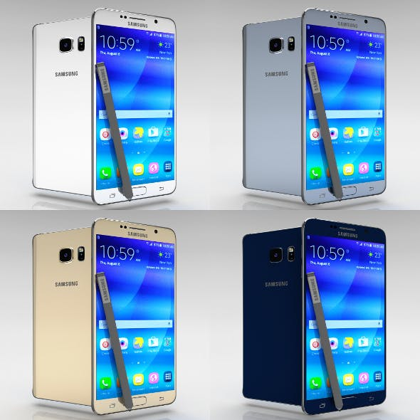 Samsung Galaxy Note 5 All Color Pack - 3DOcean Item for Sale