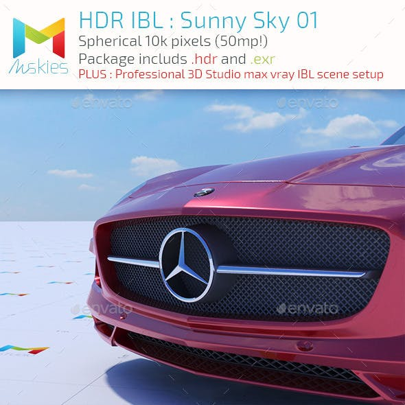 HDR IBL : Sunny Day 01