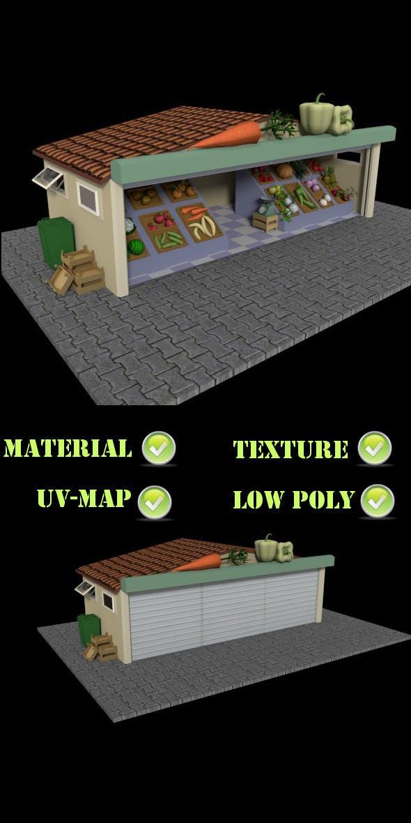 Greengrocer V2 - 3DOcean Item for Sale