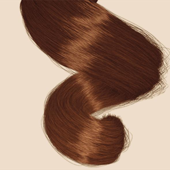 Spiral Hair Clump