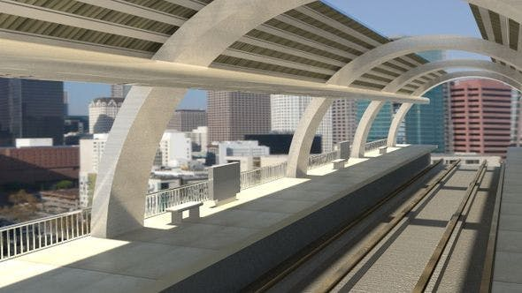 Train Station - 3DOcean Item for Sale