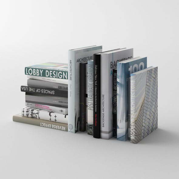Set of books C4D + Vray (vol. 2)