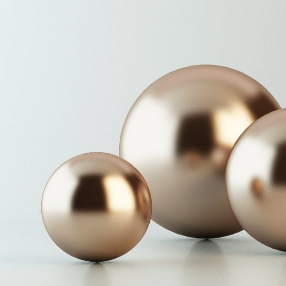 Copper Material - Vray for C4D - 3DOcean Item for Sale