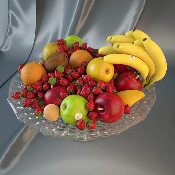 Fruit Plate - 3DOcean Item for Sale
