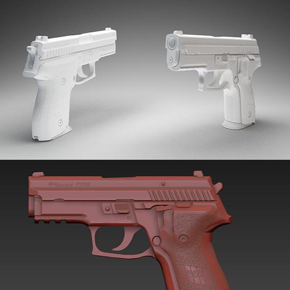 Sig Sauer P229 // Mesh Pack