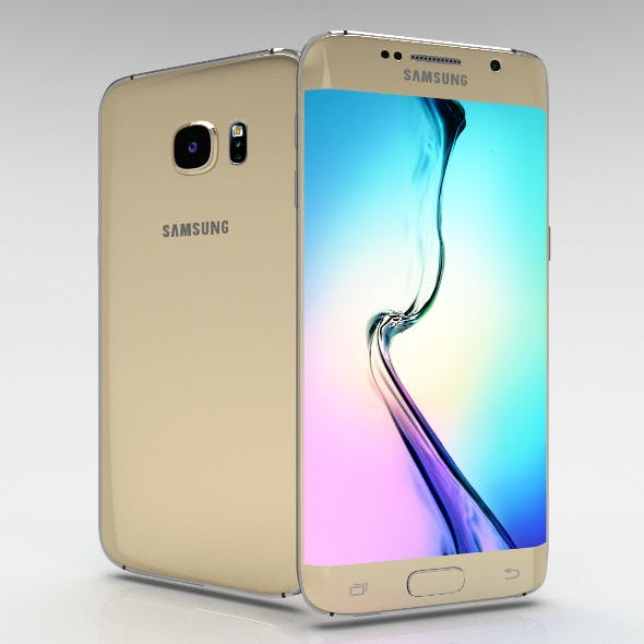 Samsung Galaxy S6 Edge+ Gold Platinum - 3DOcean Item for Sale