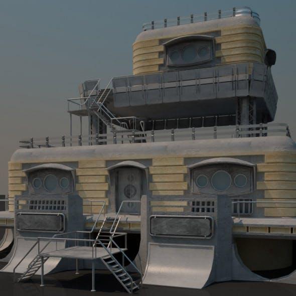 Sci-fi Building 1502