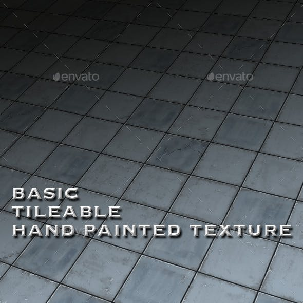 Basic Tile-able Stone Floor - Hand Painted
