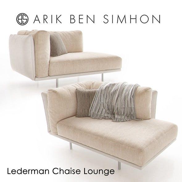 Lederman Chaise by Arik Ben Simhon - 3DOcean Item for Sale