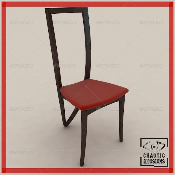 3 legged dining chair