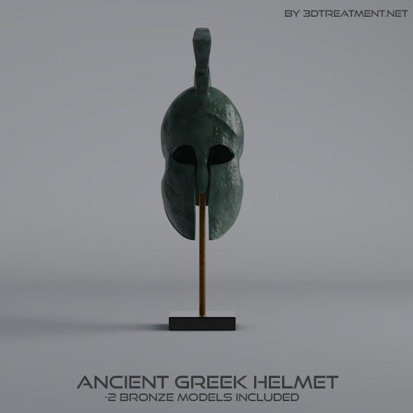 Ancient Greek Helmet - 3DOcean Item for Sale