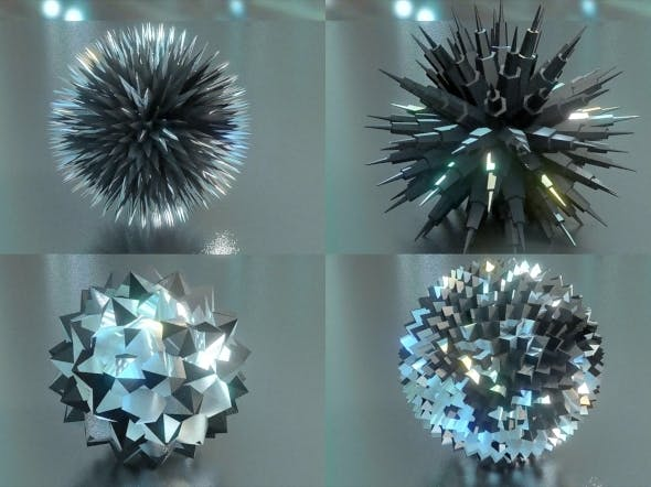 Abstract Sphere Geometry  - 3DOcean Item for Sale
