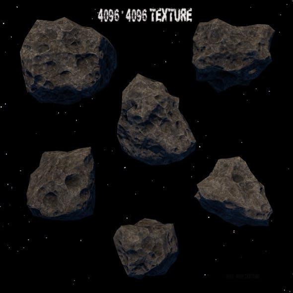 Astroid_set - 3DOcean Item for Sale