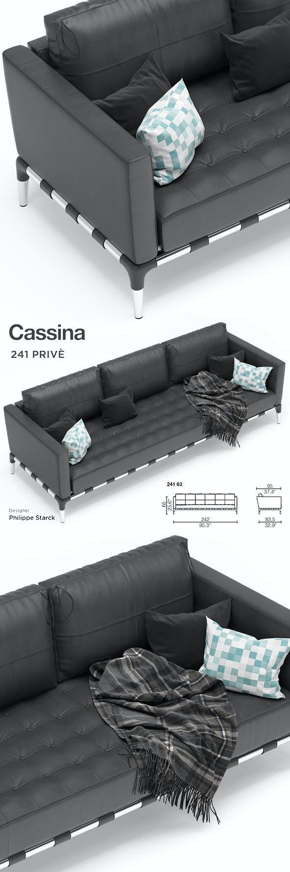 Cassina Prive - 3DOcean Item for Sale