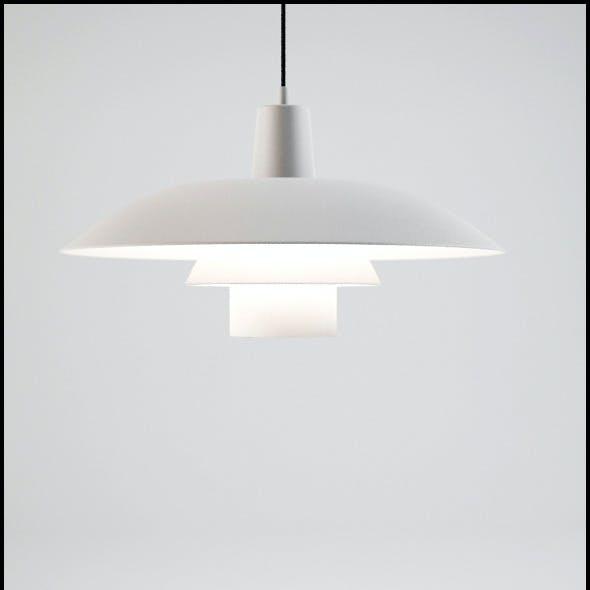Louis Poulsen (Poul Henningsen) 3/4 Ceiling Lamp