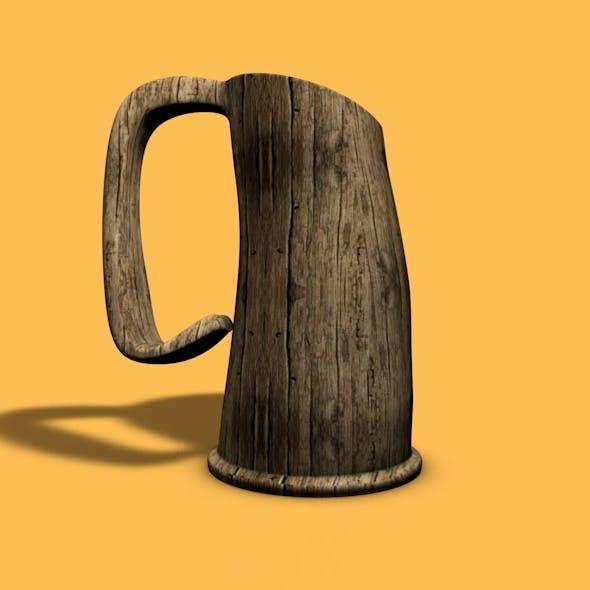 Medieval Beer Cup - 3DOcean Item for Sale