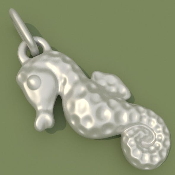 Seahorse Jewelry - 3DOcean Item for Sale
