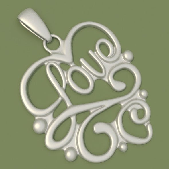 Love Jewelry 2 - 3DOcean Item for Sale