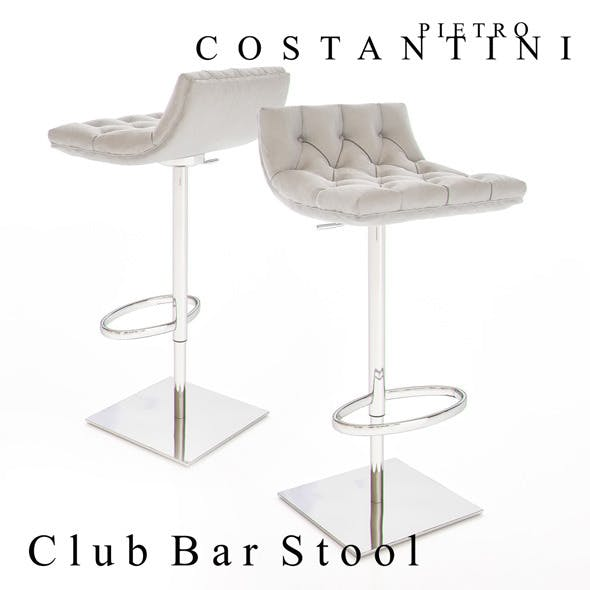 Constantini Pietro Club Bar Stool