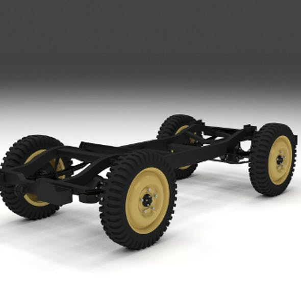 Jeep Willys Chassis