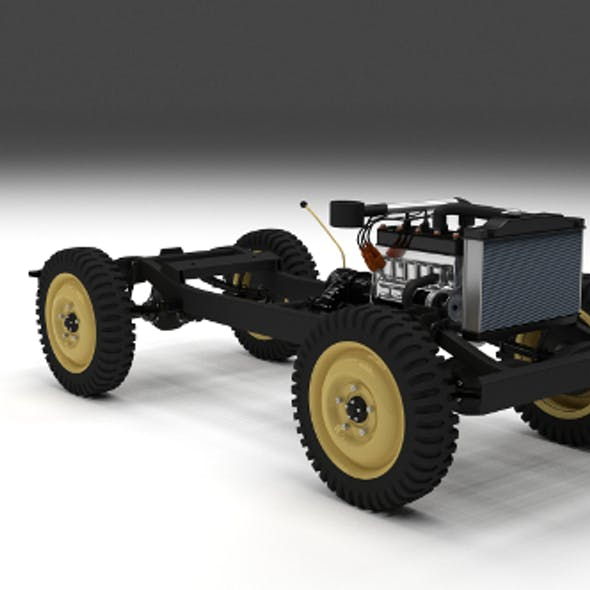 Full Jeep Chassis