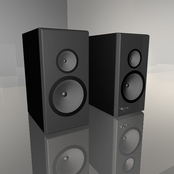 loudspeakers - 3DOcean Item for Sale