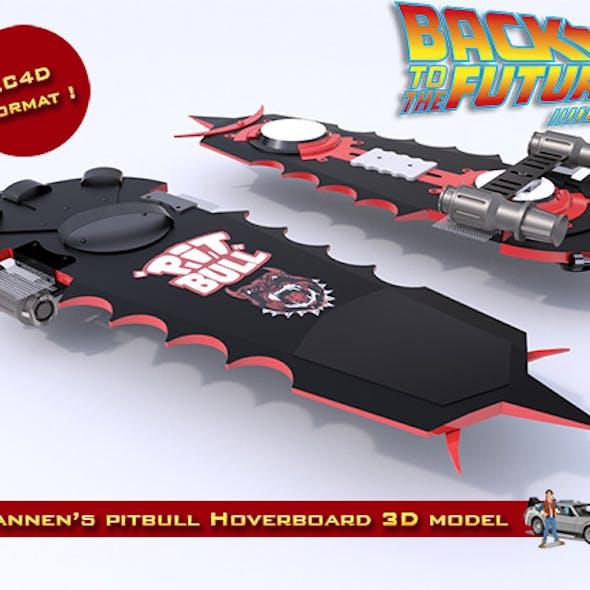 Griff Tannen's Pitbull Hoverboard