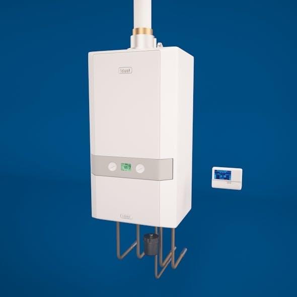 Water boiler + control unit