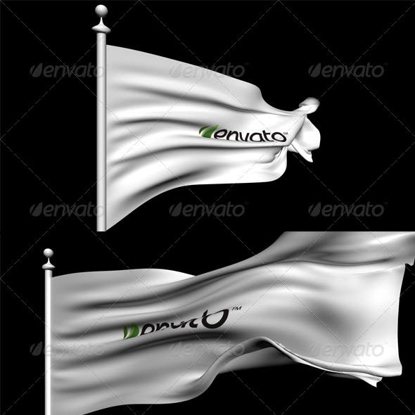 3D Animated Flag