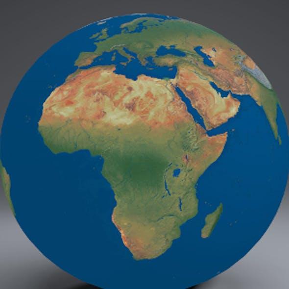 EarthGlobe16k