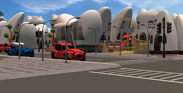 Toon City - 3DOcean Item for Sale
