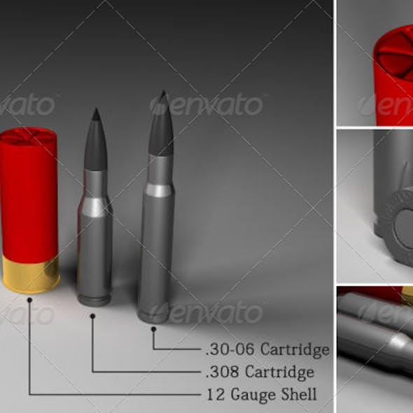 Rifle & shotgun ammunition