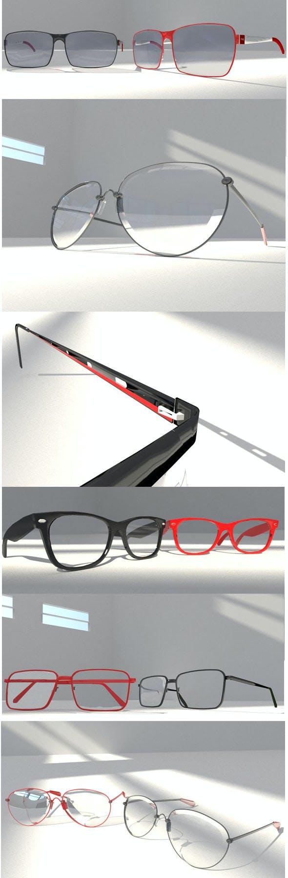 10 EYE glasses package - 3DOcean Item for Sale