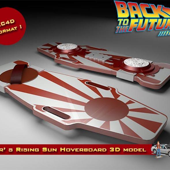 Chester Whitey Nogura's Rising Sun Hoverboard