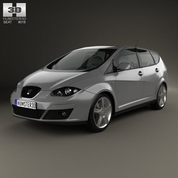 Seat Altea XL 2009 - 3DOcean Item for Sale