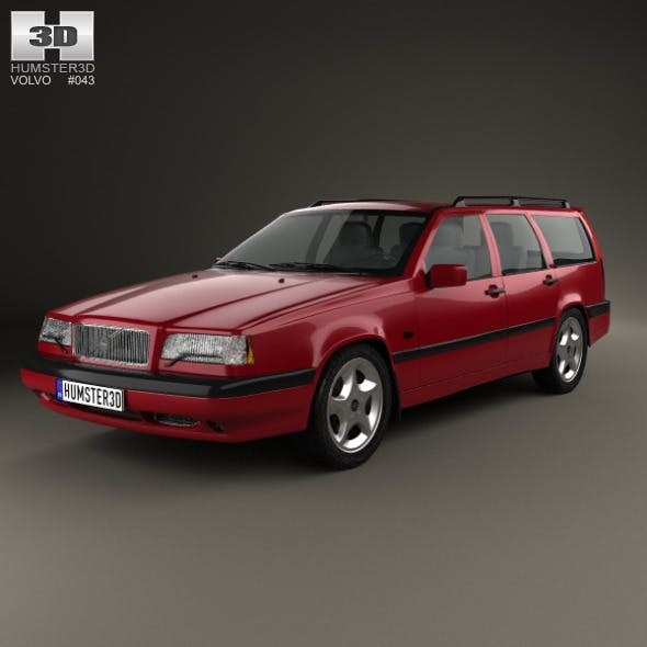 Volvo 850 wagon 1992 - 3DOcean Item for Sale