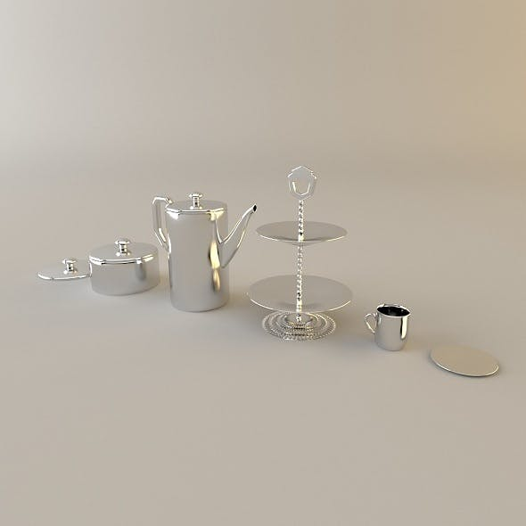 Tea Set with Teapot