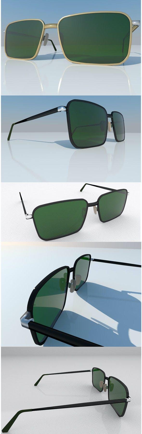 spectacles eyeglasses sunglasses - 3DOcean Item for Sale