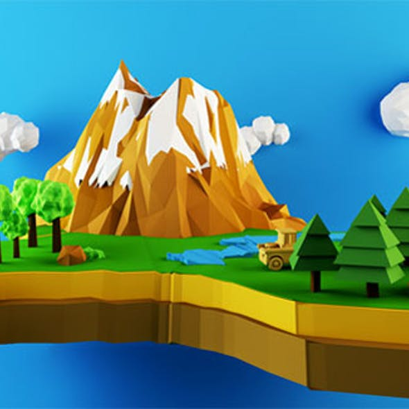 Low Poly Nature
