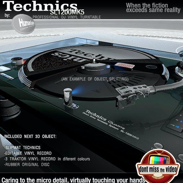 Realistic Turntable Technics SL1200MK5G