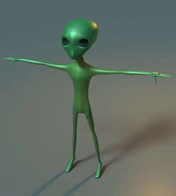 Alien Base Model - 3DOcean Item for Sale