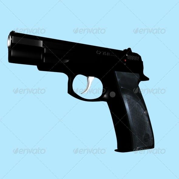 pistol CZ 75 B
