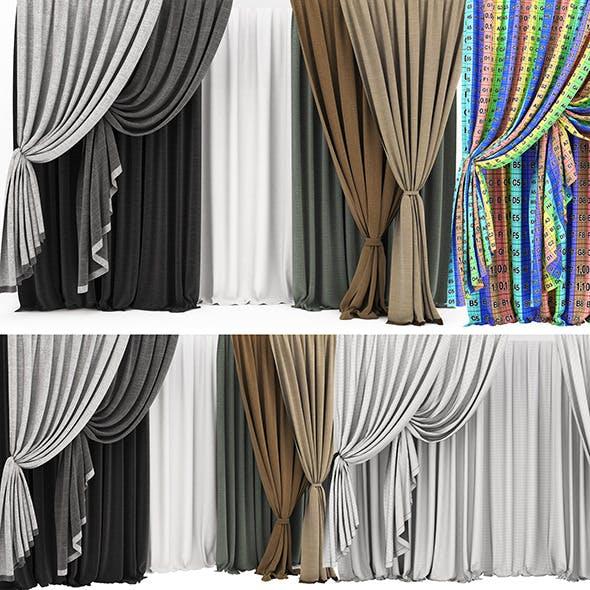 Curtain 11  - 3DOcean Item for Sale