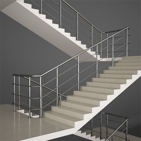Office Stairs - 3DOcean Item for Sale