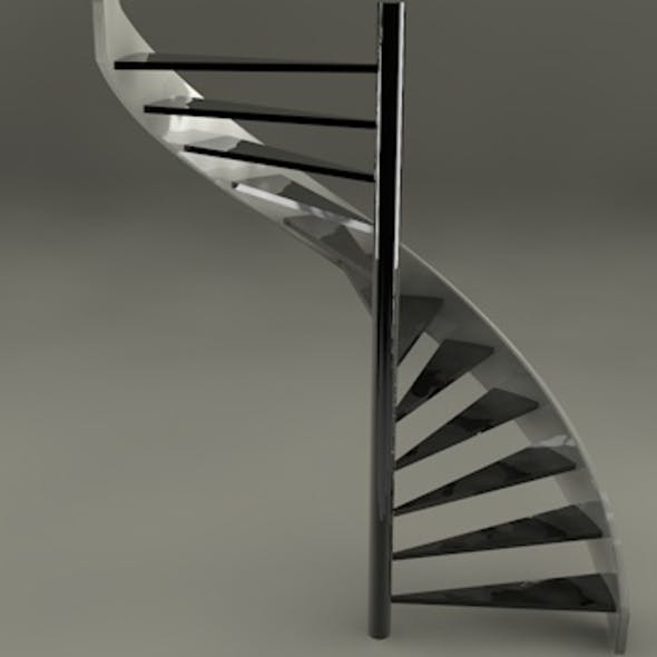 Helix stair case