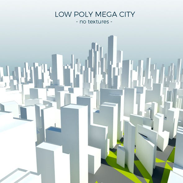 Low Poly Mega City