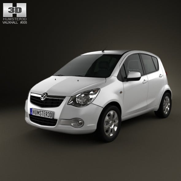 Vauxhall Agila 2008 - 3DOcean Item for Sale