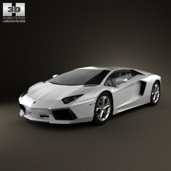 Lamborghini Aventador 2012 - 3DOcean Item for Sale